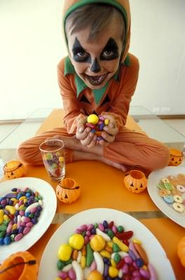 Child with Candy