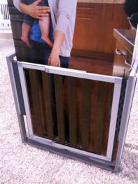 Munchkin safety gate