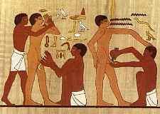 Circumcision in Ancient Egypt.