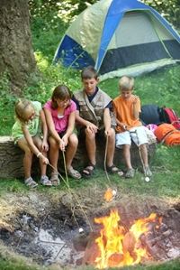 Camping with the kids? Fire safety tips for keeping them alive