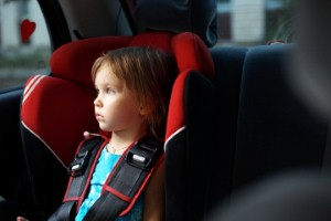 Kids may be biggest danger to themselves in car seat