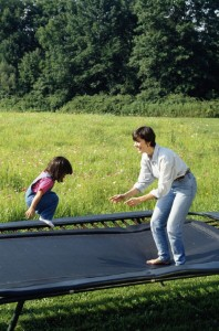Your backyard trampoline could be a serious child-safety hazard