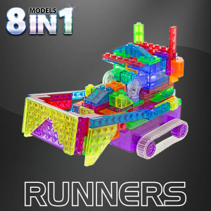 Laser Pegs Construction Runner